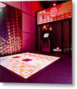 Videogame A Musical Floor Game On A Mat Metal Print by Corepics