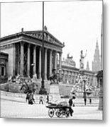 Vienna Austria - Parliament Building - C 1926 Metal Print