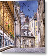 Vienna Cobblestone Alleys And Forgotten Streets Metal Print