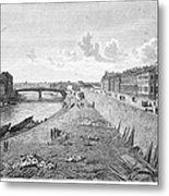 Vienna: Danube, 1821 Metal Print