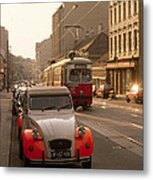 Vienna In The Afternoon Metal Print