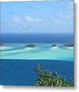View Across Polynesia Metal Print