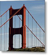 View By The Bay Metal Print