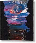 View From A Cave On Venus Metal Print