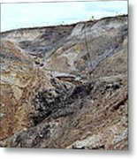 View From A Sinkhole Metal Print