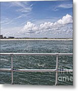 View From Across The Bay Metal Print