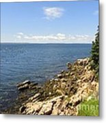 View From Bass Harbor Light Metal Print