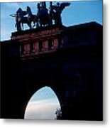 View From Brooklyns Grand Army Plaza Metal Print