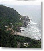 View From Cape Perpetua 2 Metal Print