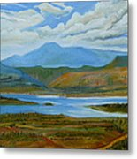 View From Chimney Rock Metal Print