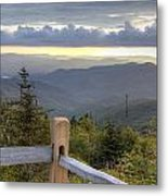 View From Clingmans Dome 2 Metal Print