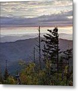 View From Clingmans Dome 4 Metal Print