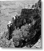 View From Grand Canyon Village Metal Print