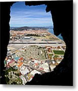 View From Inside Of The Gibraltar Rock Metal Print