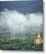 View From Phu Si Hill Metal Print