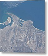 View From Space Of San Diego Metal Print