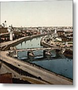 view from St Saviours - Moscow - Russia Metal Print