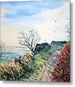 View From Sutton Bank In North Yorkshire Metal Print