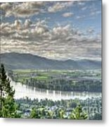 View From The Abby Metal Print