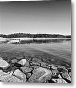 View From The Boat Ramp Metal Print