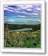 View From The Hilltop 2 Metal Print