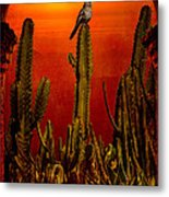 View From The Mission Metal Print