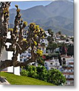 View From The Parador Nerja Metal Print