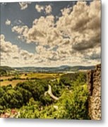View From The Ruins Metal Print