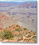 View From The South Kaibab Trail II Metal Print