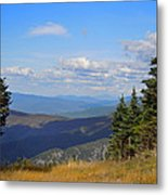 View From Top Of Cannon Mountain Metal Print