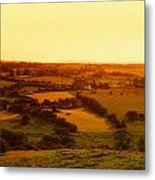 View From Uisneach, Mullingar, Co Metal Print