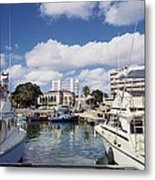 View From Waterfront Cafe Metal Print