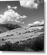 View Into The Mountains Metal Print