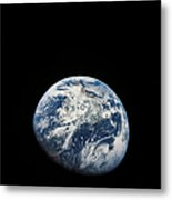 View Of Earth Taken From The Aollo 8 Metal Print