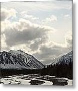View Of Quill Creek In Kluane National Metal Print