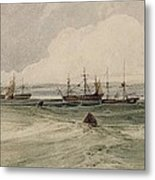 View Of Sheerness Metal Print