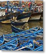 View Of Skala Du Port Metal Print