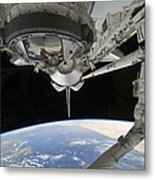 View Of Space Shuttle Discovery Metal Print by Stocktrek Images
