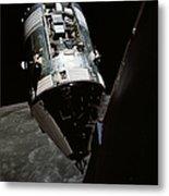 View Of The Apollo 17 Command Metal Print