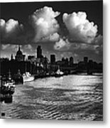 View Of The City Of London Metal Print