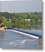 View Of The Fairmount Dam  Metal Print