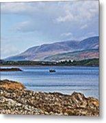 View Of The Isle Of Arran Metal Print