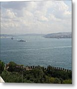 View Of The Marmara Sea - Istanbul Metal Print