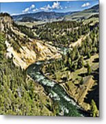View Of The River Metal Print