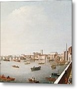 View Of The River Thames From The Adelphi Terrace  Metal Print