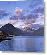 View Of Wastewater, Located In The Lake Metal Print