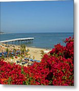 View Over Paradise Metal Print