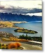 View Over Welly Metal Print