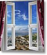 View To The World Metal Print