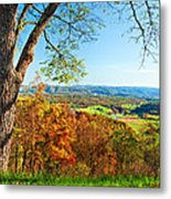 View With Caution Metal Print